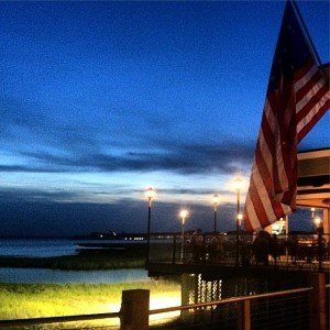 Beautiful night on the bayside in #ocmd as we check…