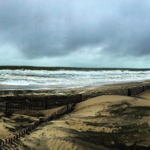 Another day facing an angry ocean in ocmd storm windsandwaveshellip