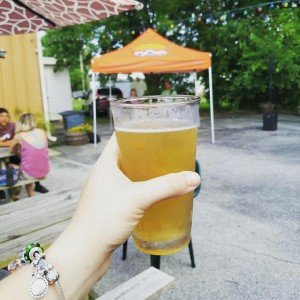 Sunset Peach Wheat release party at 3rdwavebrew supportlocal exploreocmd shorebreadhellip