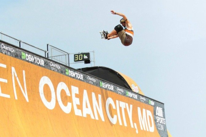 Dew Tour Ocean City MD Record Turnout