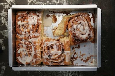 Cinnamon Rolls Recipe from Ocean City's Liquid Assets