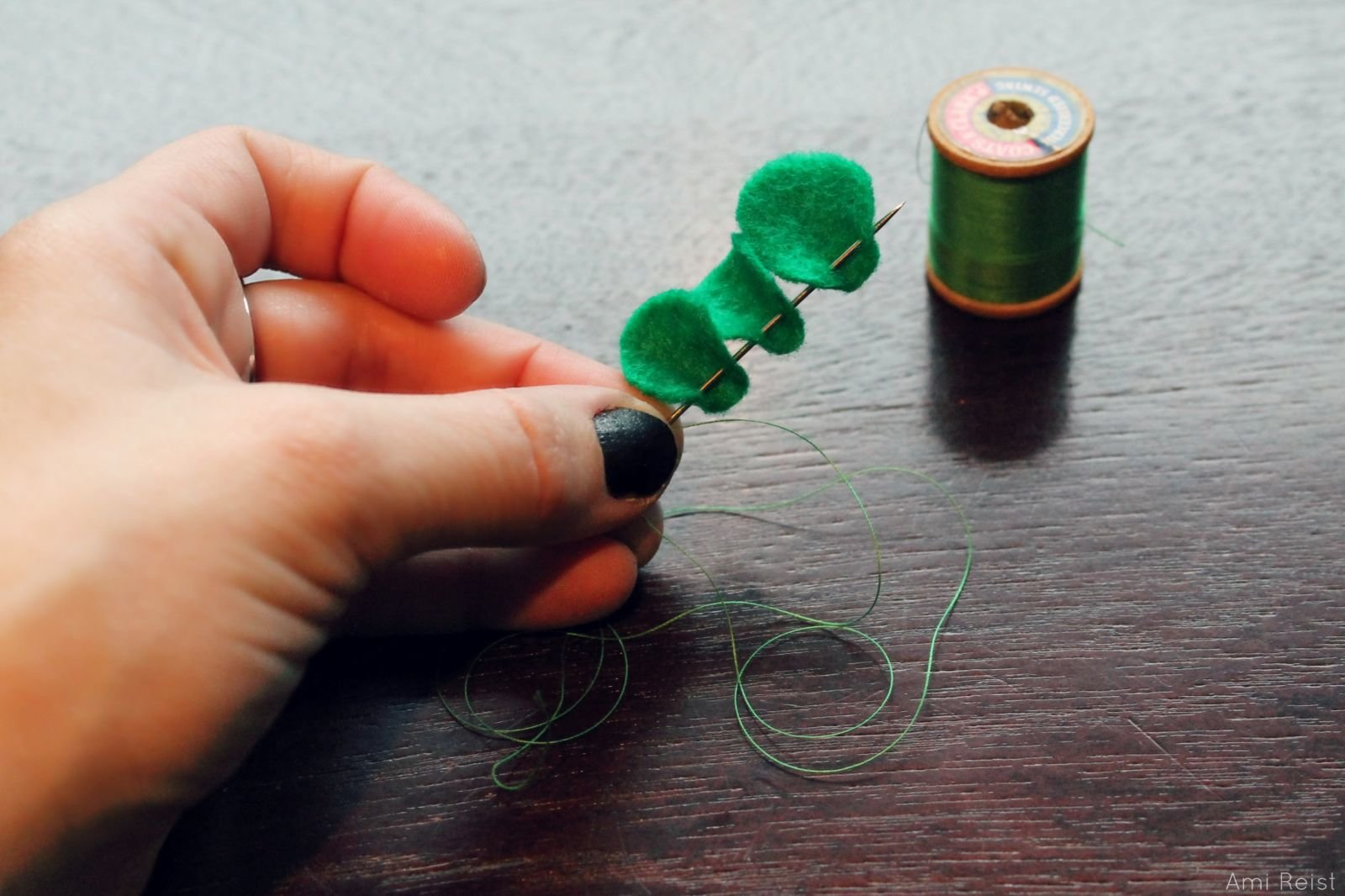Clover St Patrick's Day Hair Pin DIY