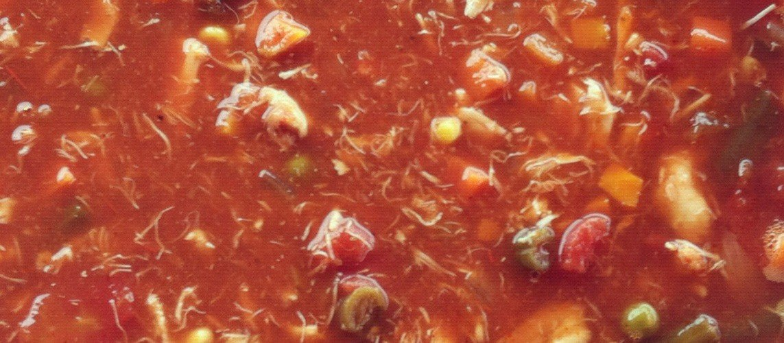 George's Maryland Crab Soup Recipe by George's Mixes, Theda Bakis