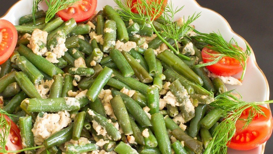 Green Beans with Goat Cheese Recipe