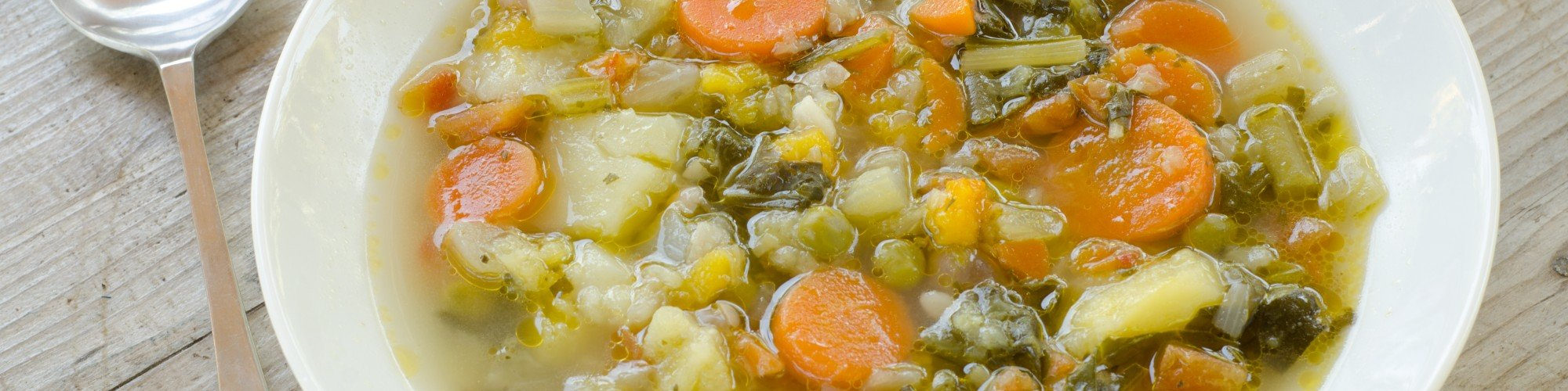 Victory Garden Vegetable Soup Recipe by Nancy Alexander