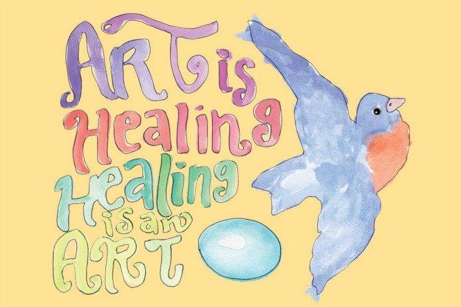 Wes Annac ~ The Teachers Speak Art-is-Healing-1