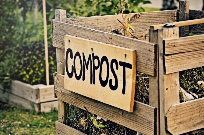 Create your own open compost pile - DIY - tutorial