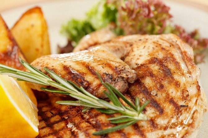 Roasted Chicken with Rosemary and Lemon Recipe