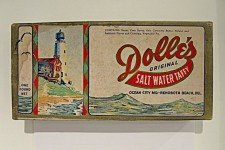 Vintage Dolles Salt Water Taffy Candy Box 1930s - Rehoboth Beach DE