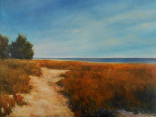 ~Michele Green- chincoteague path-1