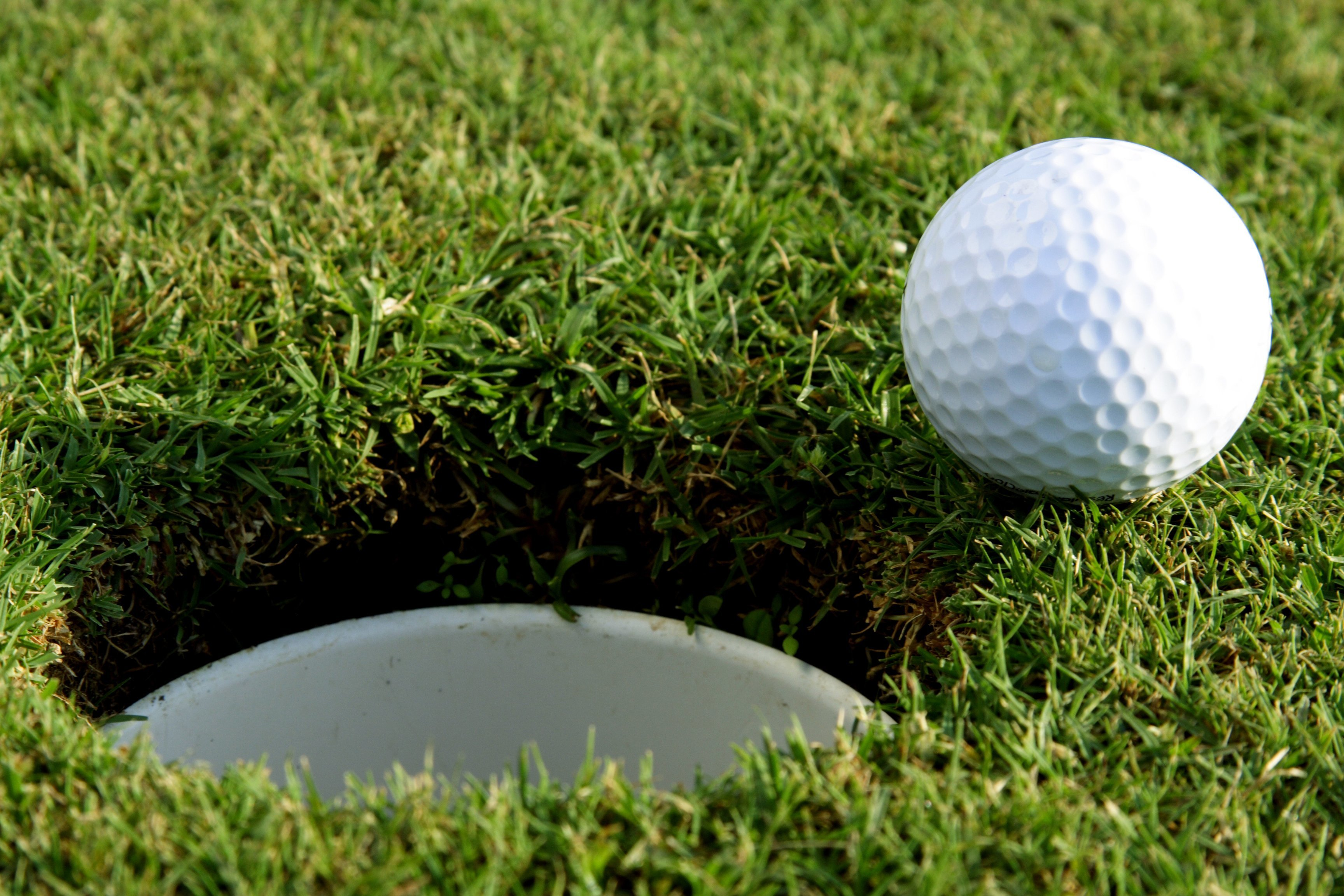 golf ball and hole_48353815
