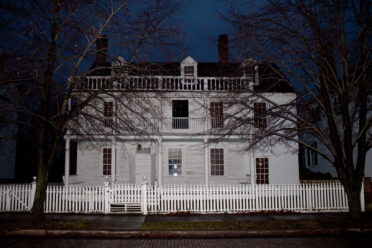 Josiah Bayly House – sits on the most haunted street in Maryland – High Street in Cambridge. Photo courtesy of CGW.