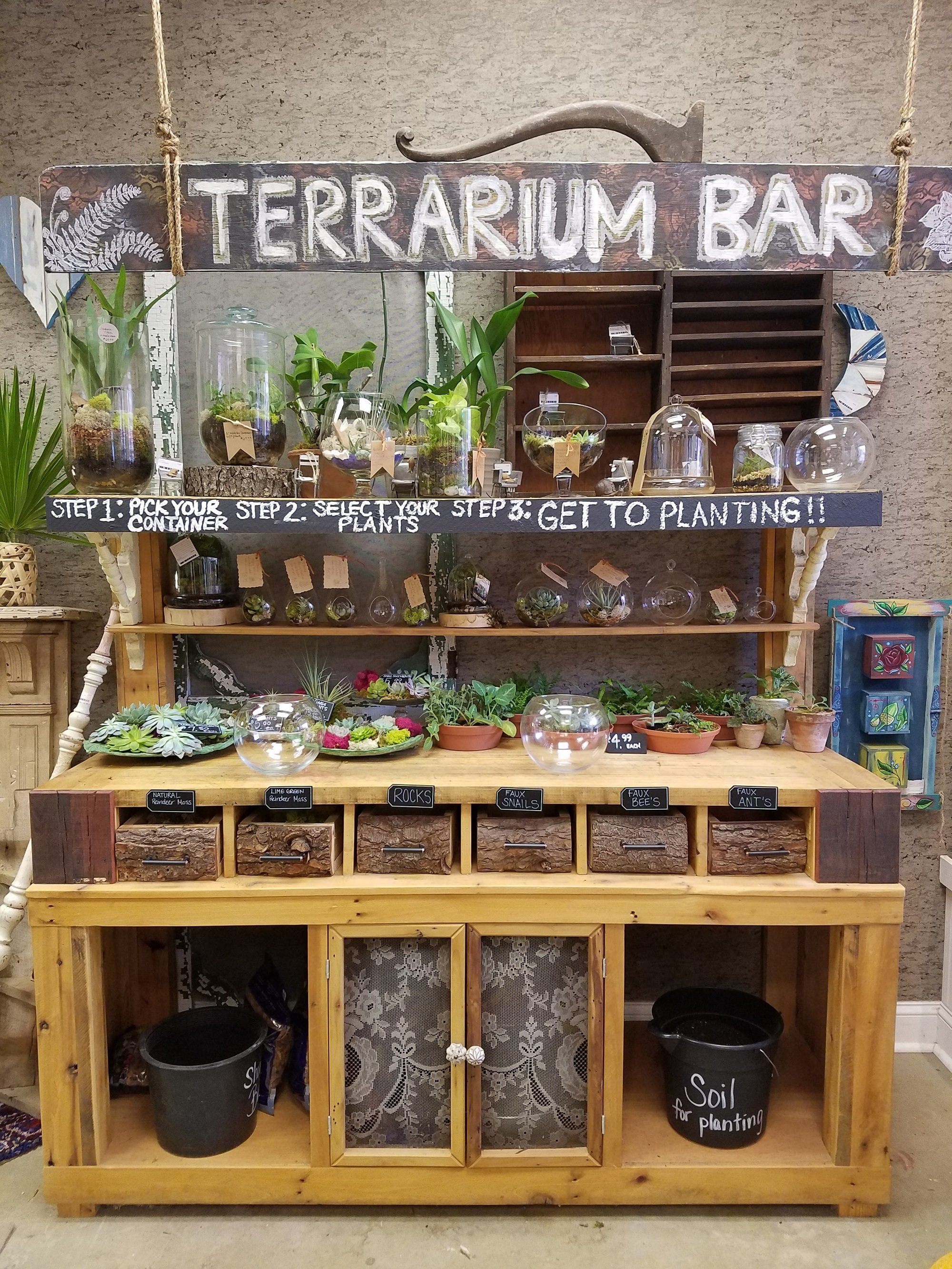 Trying Out The Terrarium Bar At Bleached Butterfly