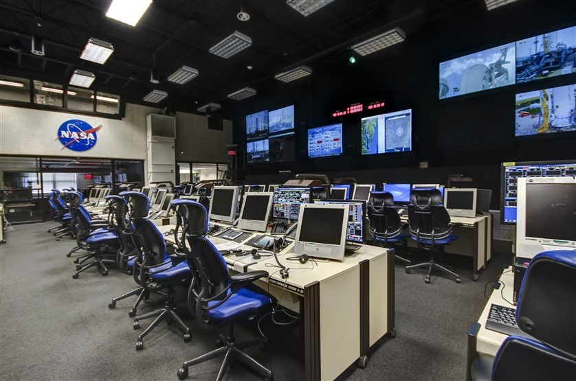 Mission Control NASA Wallops Flight Facility