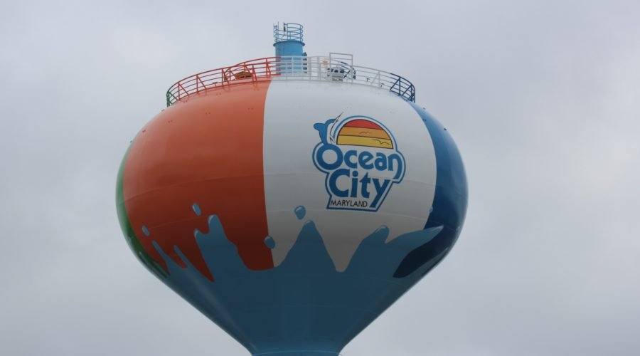 ocean city water tower