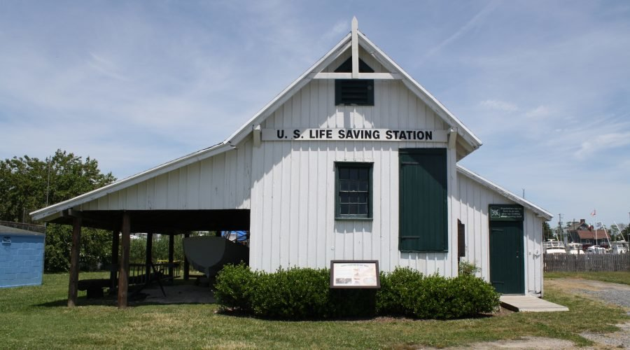 building in Lewes Delaware used as a Life Saving Station