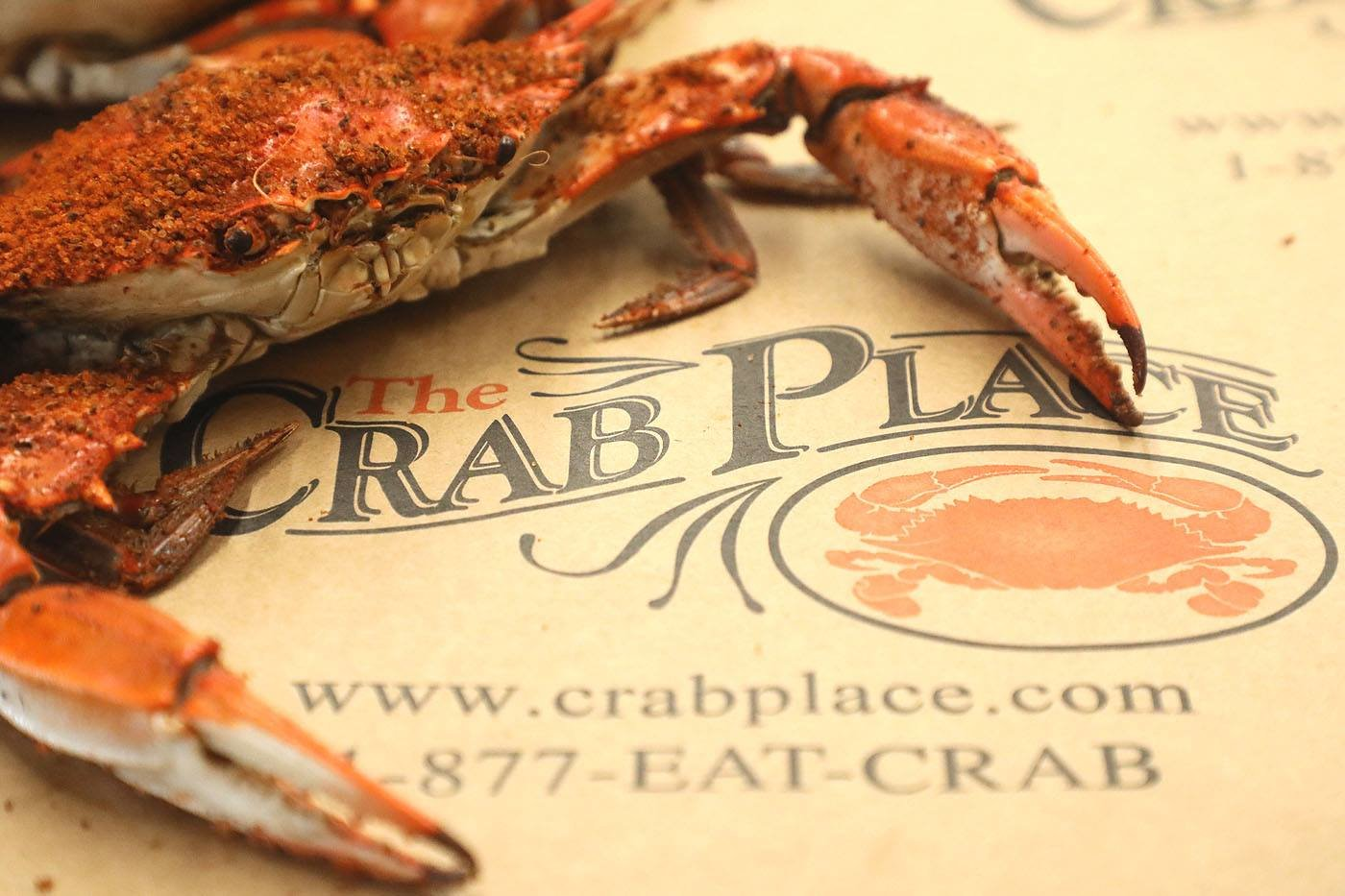 Crab Place Crab & Cruise Menu