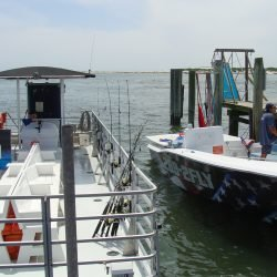 Sea Rocket Pontoon Boat and Parasail Boat