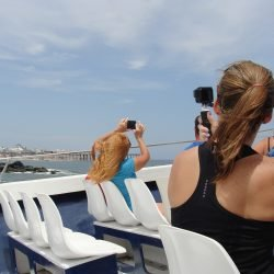 Taking Photos of Ocean City from the Sea Rocket