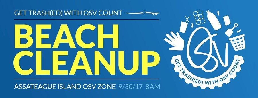 Assateague OSV Beach Clean Up Day | Shorebread