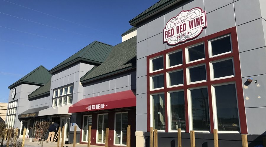 new red red wine bar and DRY 85 restaurants in Ocean City with outdoor patio and red awning