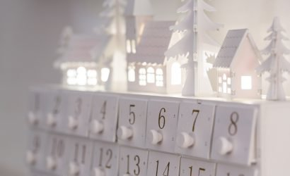 winter advent calendar to countdown to December Events at the Delaware Beaches