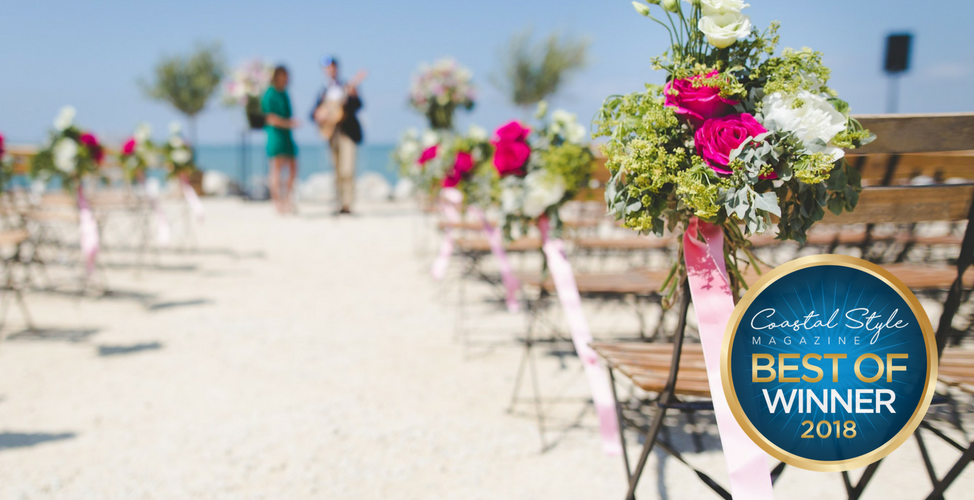 Beach Wedding Chairs Set Up
