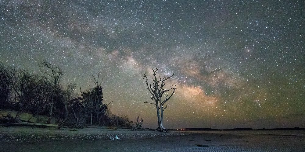 Carol Ward, Milky Way at Low Tide, Archival Digital Print on Paper