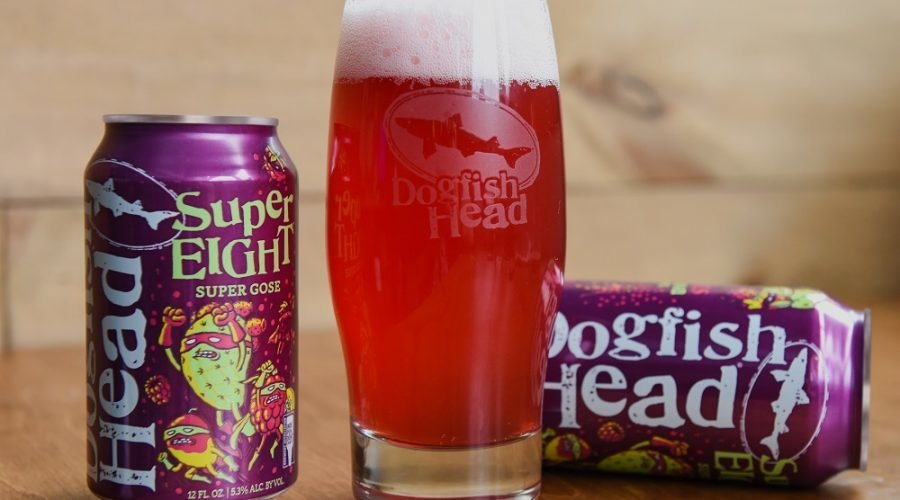 dogfish super eight beer