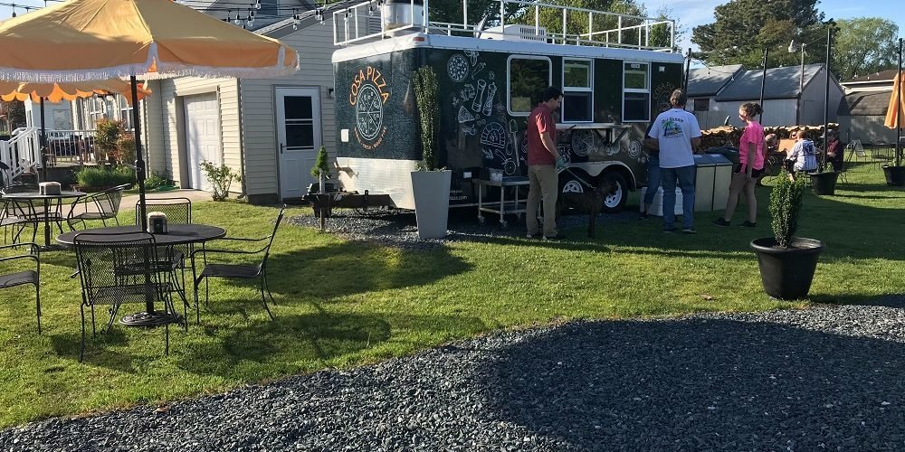 cosa pizza food truck