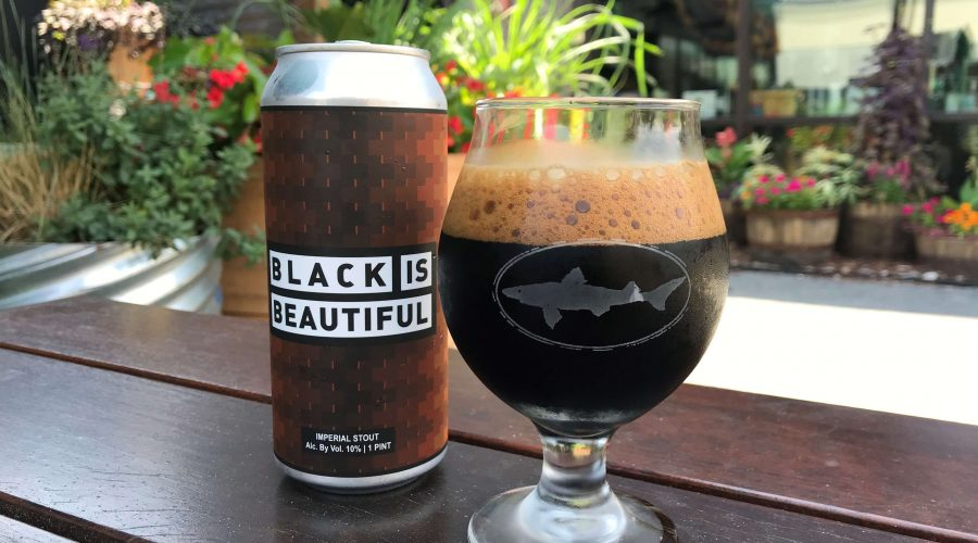 Dogfish Head's Black Is Beautiful Can
